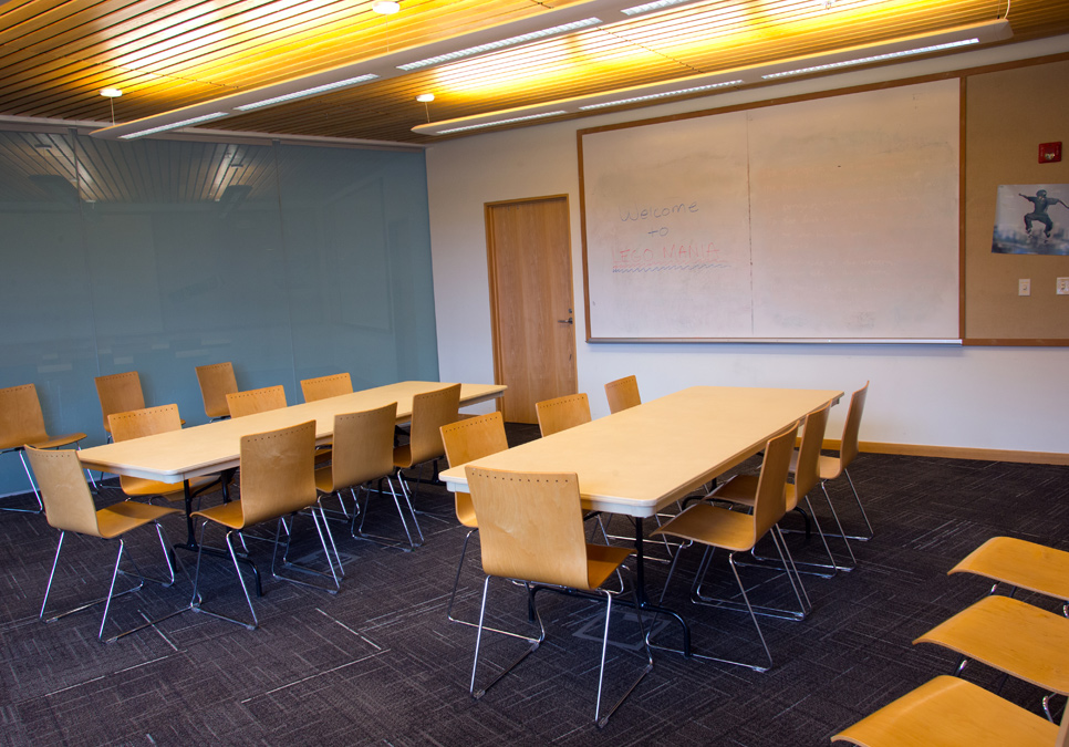 Meeting room area at the Capitol Hill Branch