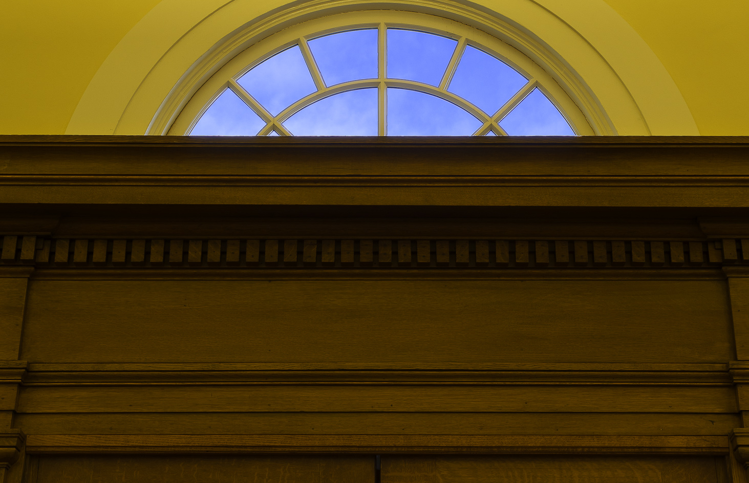 Interior detail at the Columbia Branch