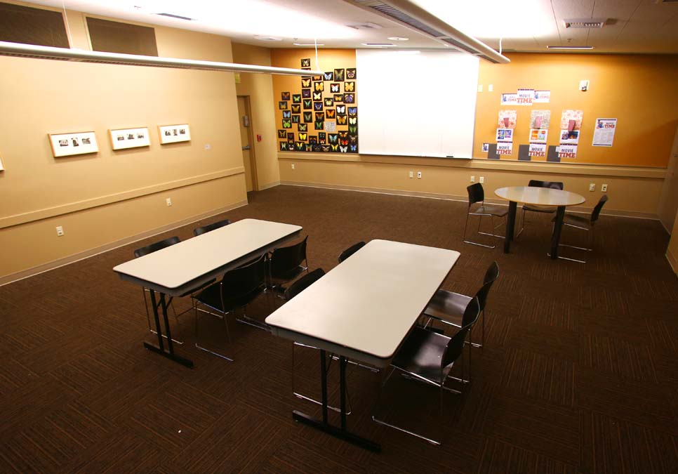 Meeting room area at the Southwest Branch