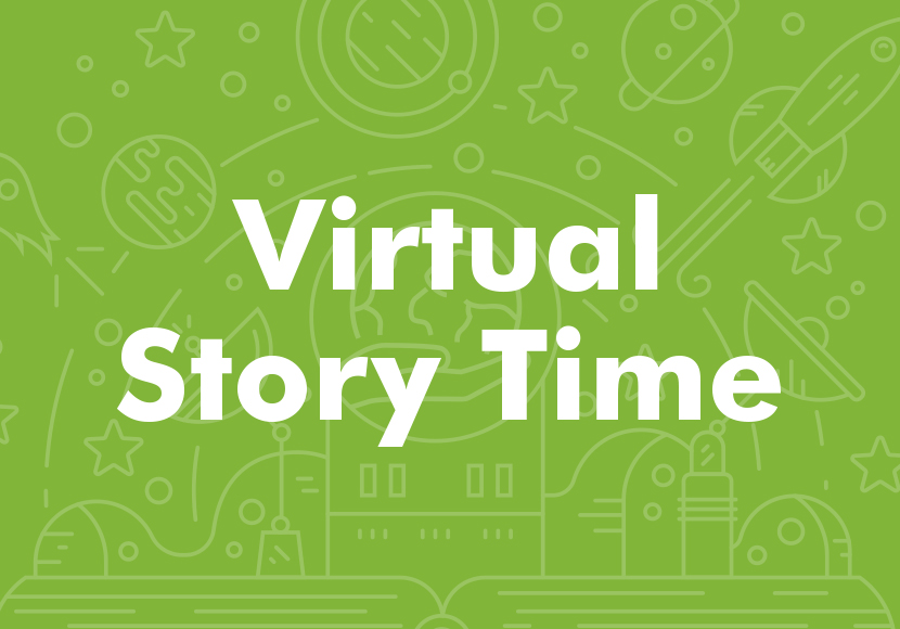 Virtual Story Time graphic
