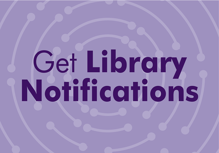 Get Library Notifications
